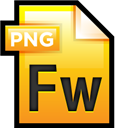 Adobe, File, Fireworks icon