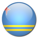 aruba,flag,country icon