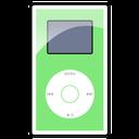 ipod, green, mini icon