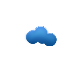 minimal, weezle, cloud icon