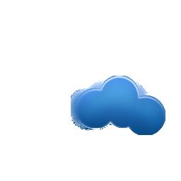 minimal, weezle, cloud icon