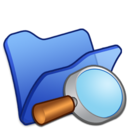 folder,blue,explorer icon