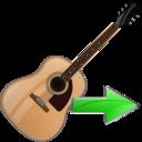 guitar,next,instrument icon