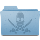 Folder, Pirate icon