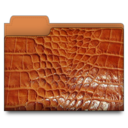leather,folder,brown icon
