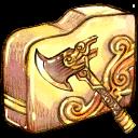 folder, axe icon