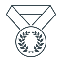 award, awards, laurel, medal, best, achievement, winner icon
