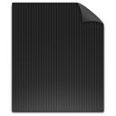 empty, document, paper, file, blank icon