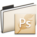 folder, ps, photoshop icon
