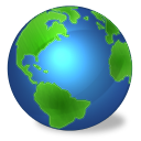 planet, earth, world, connected, globe icon