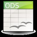 opendocument spreadsheet icon