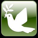 peace, dove icon
