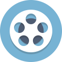 film reel, film, reel, movie icon