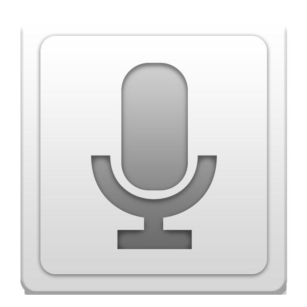 search, voice icon