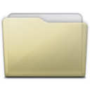 beige folder generic icon