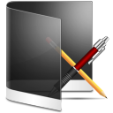 folder black apps icon