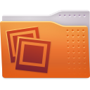 folder, images icon