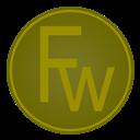 Adobe, Fw, icon
