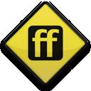 102801, 097678, friendfeed, square, logo icon