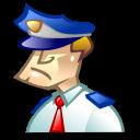 cop, police icon
