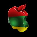 mac, rasta icon
