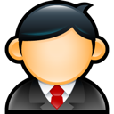 user, man, male, client icon