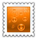 document, stamp, send icon
