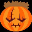 jack-o-lantern, scary, halloween, frankenstein, monster, horror, pumpkin icon