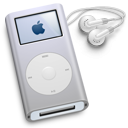 ipod,mini,silver icon