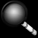 Magnify Black icon