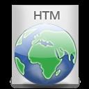 File Types HTM icon
