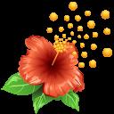 allergen, flower, allergy, pollen, weather icon