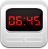clock,alarm,white icon