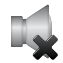 speaker, mute icon