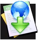 downloaded,file,paper icon