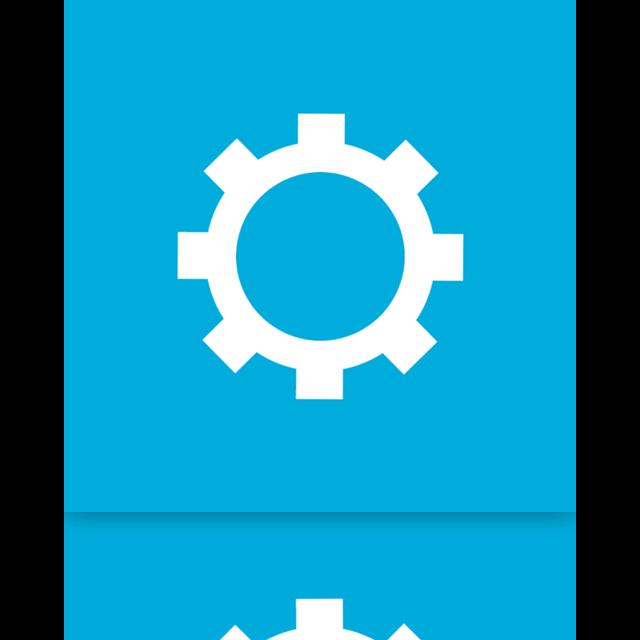 mirror, configure icon