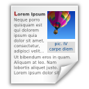 x, mswrite icon