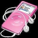 nano, ipod, pink icon
