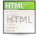 document, text, gnome, html, file, mime icon