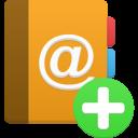 addressbook add icon