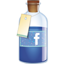 Bottle, Facebook icon