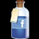 Bottle, Facebook icon