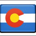 colorado,flag icon