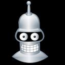 bender,cartoon icon
