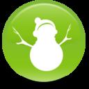 christmas,snowman icon