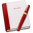 Book, Fountain, Note, Pen icon
