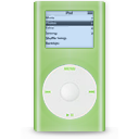 ipod, green, mini icon