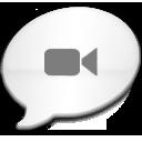 iChat Milk Black icon