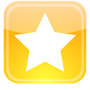 star, favorite, bookmark, badge icon