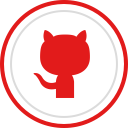 brand, social, github, media, logo icon